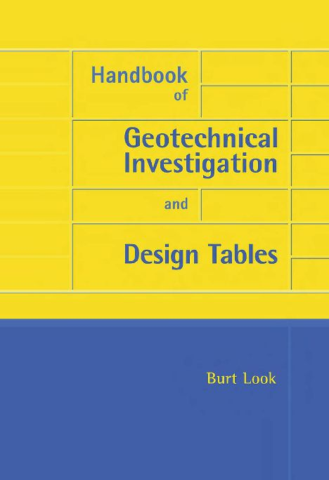 Pdf Hand Book Of Geotechnical Investigation And Design Tables Naiyar Imam Academia Edu Civil Engineering Books Investigations Soil Classification