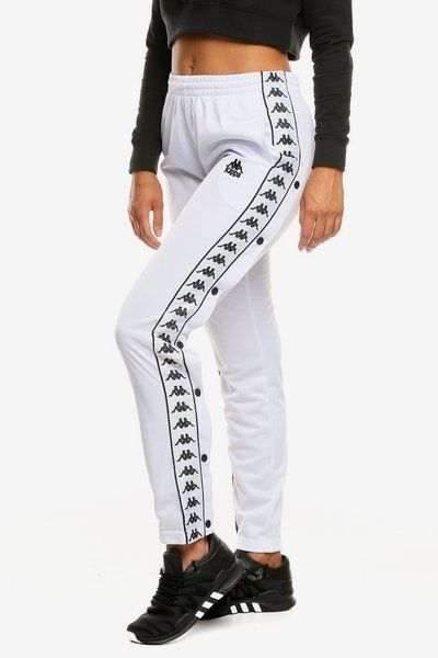 1333cea2ef Kappa Women's Hector Pant White | Outfits in 2019 | Pants for women ...