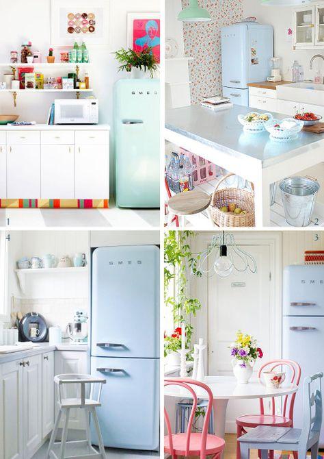 frigorifero smeg | Home Decor | Pinterest | Interiors, Kitchen ...