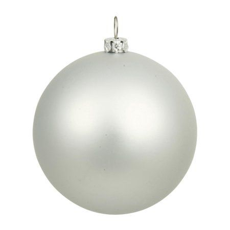 Vickerman 6 In Matte Ball Ornament Set Of 4 Walmart Com Ball Ornaments Ornaments Shatterproof Ornaments