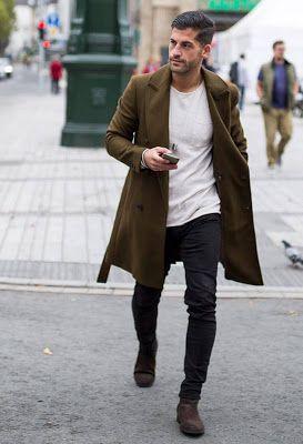 Outfits de Moda para Hombres | Moda hombre invierno, Moda