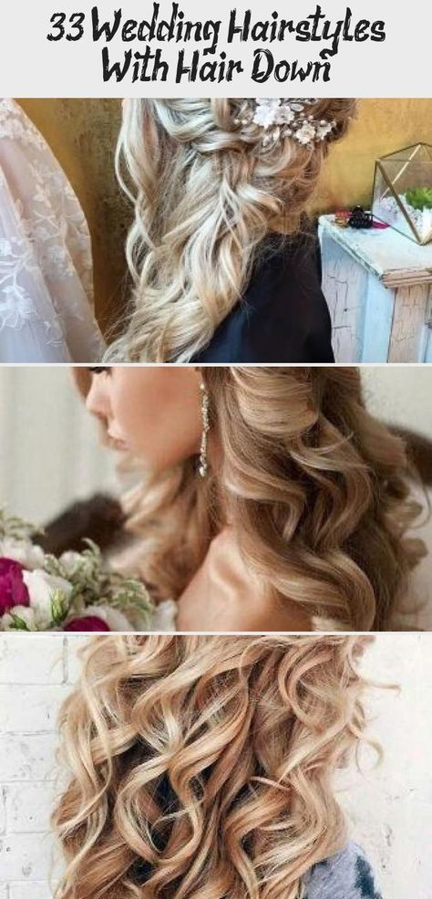 wedding hairstyles with bangs #wedding #hairstyles #weddinghairstyles 33 Wedding Hairstyles With Hair Down wedding hairstyles down curly long blonde with side silver pin elstile #weddingforward #wedding #bride #weddinghairstyles #weddinghairstylesdown #HalfUppromhair #promhairGuide #promhairIdeas #promhairVideos #promhairWithBangs