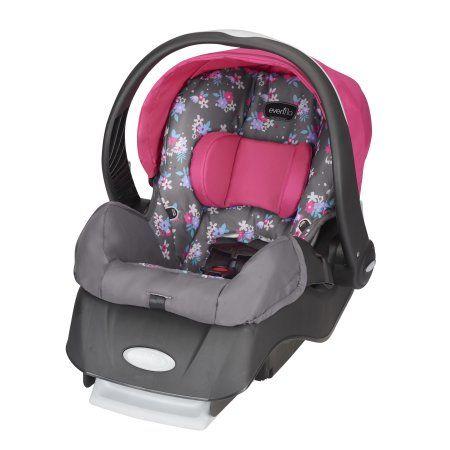 Pleasant Evenflo Embrace Select Infant Car Seat Blossom Baby Car Creativecarmelina Interior Chair Design Creativecarmelinacom