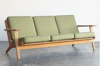 Sold Hans Wegner Plank Sofa Musk Creek Home