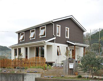 スウェーデンハウスの住宅実例1 スウェーデンハウス ハウス 住宅 外観