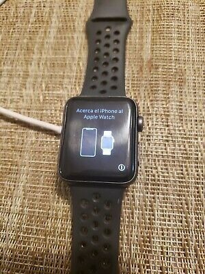 Apple Watch Series 3 42mm Nike Cellular Used In 2020 Apple Watch Apple Watch Series 3 Apple Watch Series