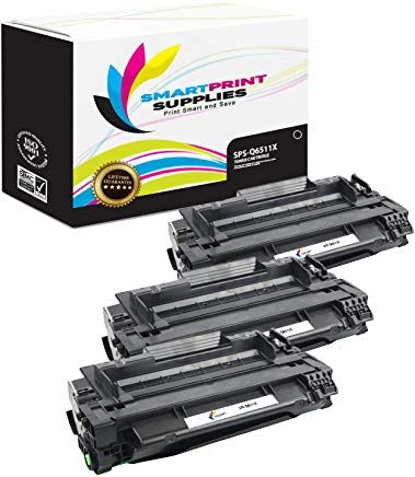 Smart Print Supplies 11x High Yield Compatible Replacement Toner Cartridge 3 Pack Corresponding Oem Number Q6511x With Images Toner Cartridge Toner Cartridges