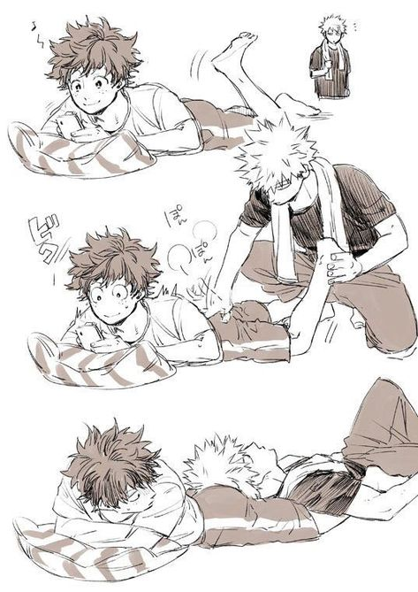 List of Pinterest bakugo x midoriya fluff pictures