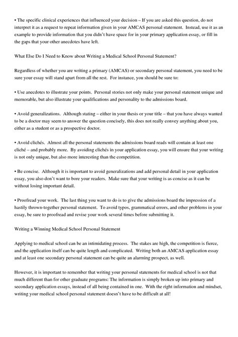 How To Write A Personal Statement For Medical School Title How To - personal statement for medical school