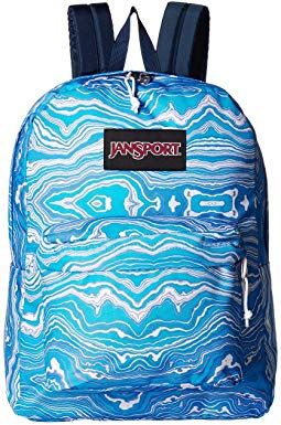 This Jansport backpack for a teen girl would be perfect for carrying all her gear for high school.   This backpack features a spacious main compartment that provides you with plenty of space to organize your school essentials. It also has an internal sleeve.  Padded shoulder straps provide added comfort when you are carrying a heavy load of books. This backpack also features a front pocket with an organizer for storing electronics and accessories.