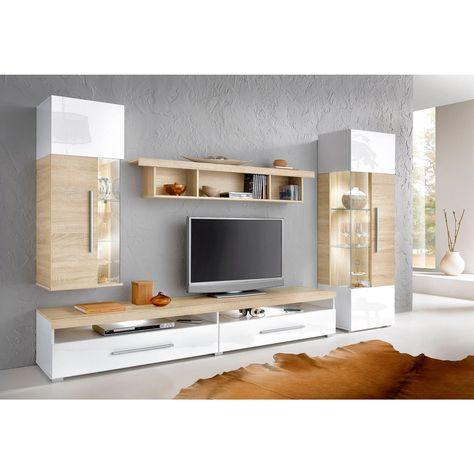 Ensemble mural 4 éléments - 3Suisses | Meuble tv, Mobilier ...