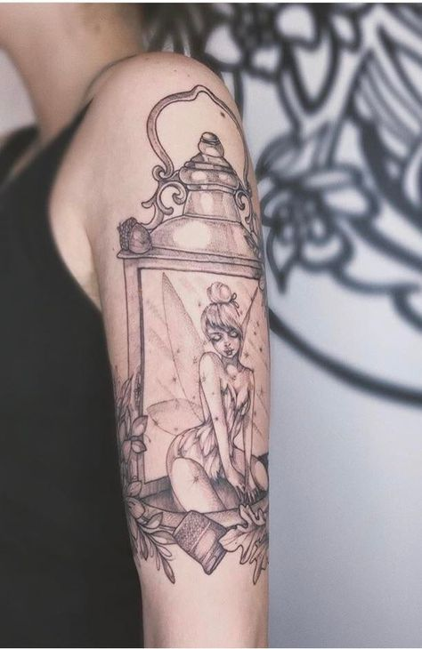 My Peter Pan inspired Tinkerbell tattoo, done by Kristy @ Adrenaline, Vancouver, Canada. Ankle Tattoo Small, Fairy Tattoo, Tattoos, Peter Pan Tattoo, Fairy Tattoo Designs, Friend Tattoos, Disney Tattoos, Belle Tattoo, Tattoo Designs