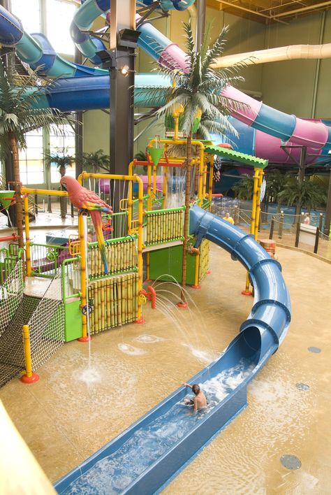 Maui Sands Resort and Indoor Waterpark - Sandusky, Ohio.