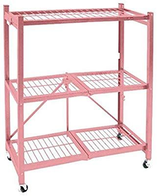 Origami 3 Shelf General Purpose Collapsible Foldable Shelving Unit