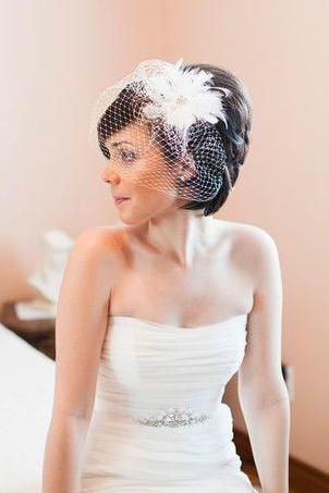 Stunning Short Hairstyles For Your Wedding Day Short Wedding