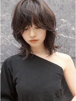 ハイレイヤースタイル ヘアスタイル ヘアスタイリング 髪型