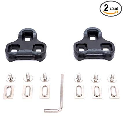 CyclingDeal Shimano SPD SL Compatible Cleats 0 Degree Fixed