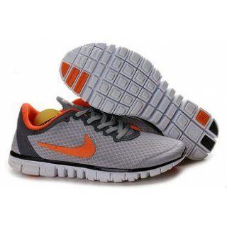 Billig imitasjon Nike Free 3.0 v2 Grå orange sko