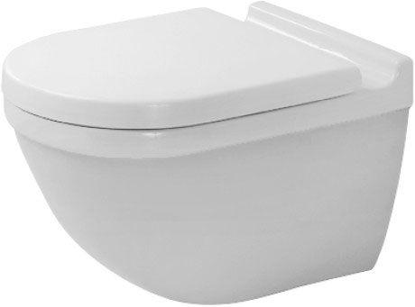 Starck 3 Toilet Wall Mounted 222509 Duravit Duravit Toilet Wall Bathroom Planner