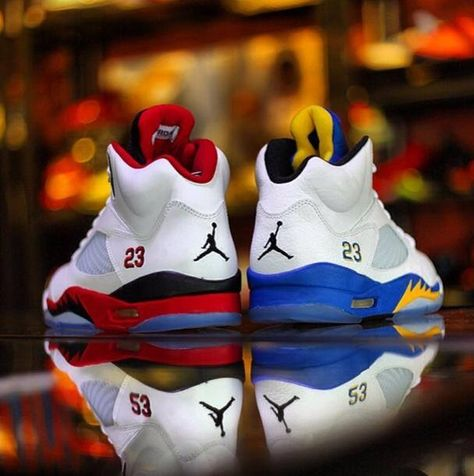 best service 85f77 1abb0 Air Jordan 5 s. What one do you choose   Mine. The Fire 5 s 👌