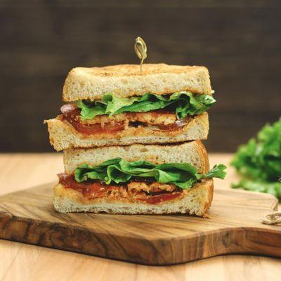 Resep Sandwich Tempe Bakar Endeus Tv Roti Lapis Resep Sandwich Saus Bbq