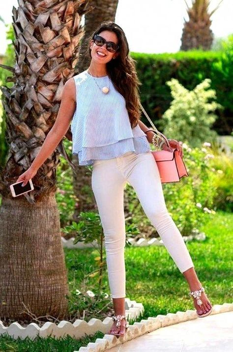 27 Awesome Spring Outfits Ideas for Women Trending Right Now #SPRINGOUTFITS #SPRINGOUTFITSWOMEN #WOMENSPRINGOUTFITS #fashionover40springheels
