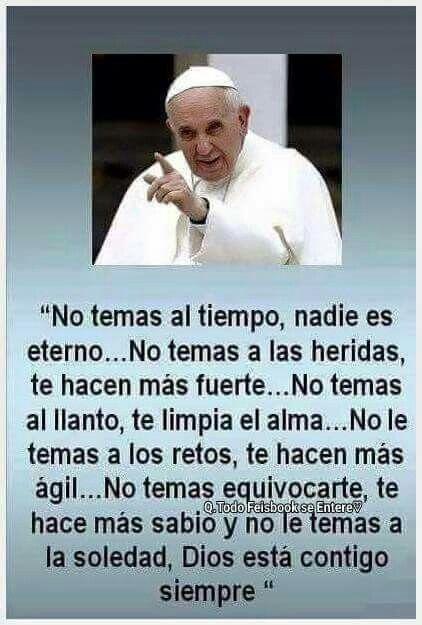 Papa Francisco Frases Motivadoras Frases Inspiradoras Y