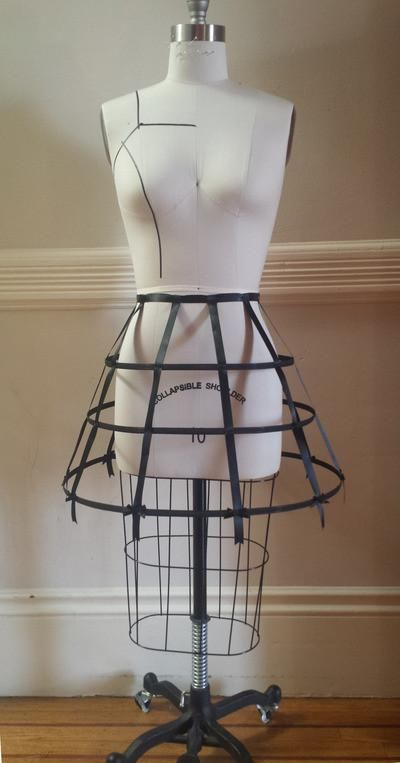 Black Cage Crinoline from The Black Ribbon