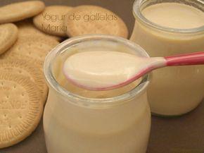 Yogur De Galletas Maria Recetas Con Yogur Yogur Casero Y Yogurt