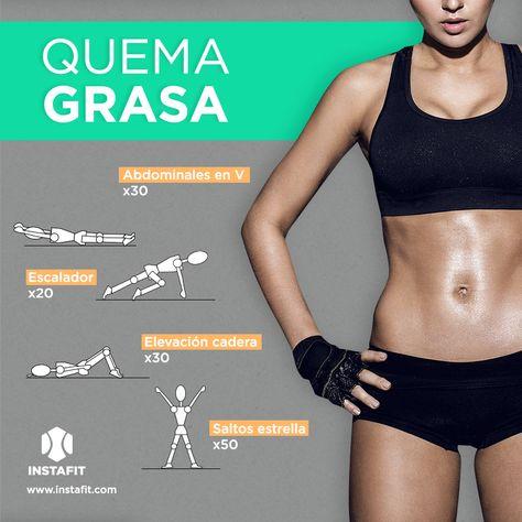 Rutina de ejercicio quema grasa  #workout #gif #fatburn