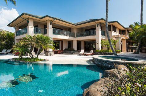Mansions On The Beach With Pool resim Pinterest Mansion - villa mit garten und pool