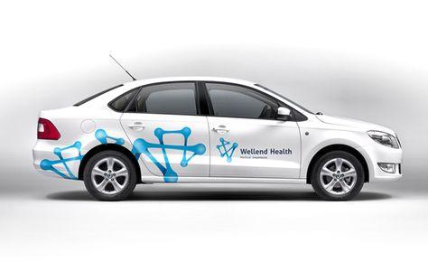 55 best Car Branding images on Pinterest   Vehicle signage, Vehicle ...