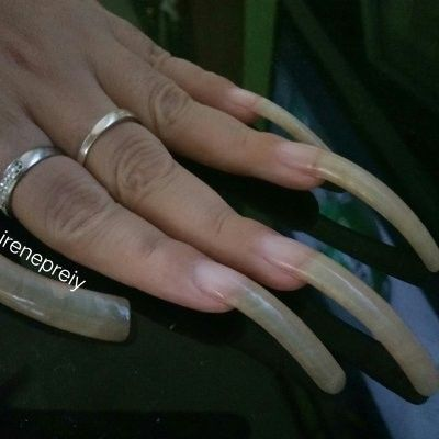 Pin On Curved Nails
