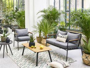 Salon De Jardin Les Nouveautes De La Redoute Joli Place En 2020 Salon De Jardin Design Canape Jardin Mobilier Jardin