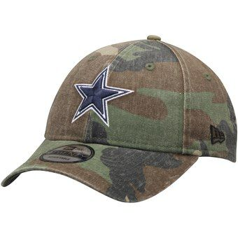 dallas cowboys camouflage cap