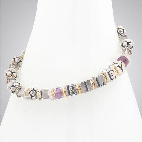 6bee0dce9 Custom Designer Jewelry and Cancer Awareness Jewelry by Elisa Ilana -  Mother's Bracelet