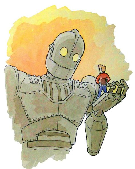 Iron Giant By Rjessup Deviantart Com On Deviantart The Iron Giant Iron Character Design