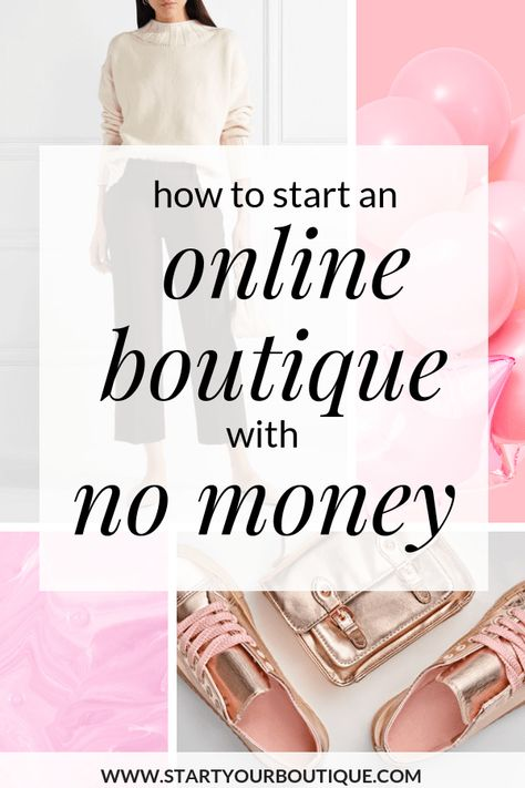 How to Start an Online Boutique with No Money