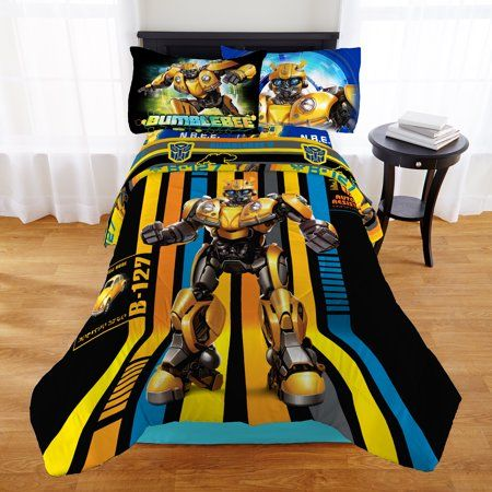 Transformers Bee On His Own Bedding Bed in a Bag Set   Walmart.