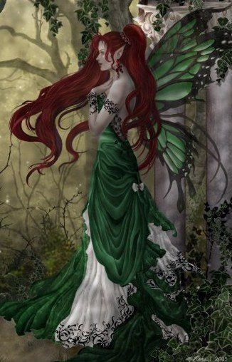 Green fairy Forest fairy, Emerald fairy Thanks, Pinterest Pinners, for stopping…