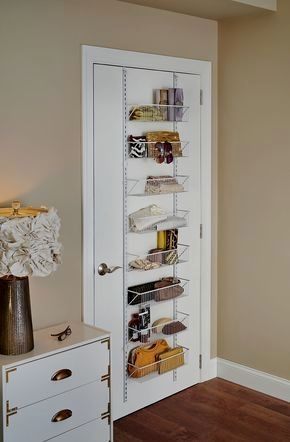 Hanging Overdoor Organizer Diy Bedroom Storage Small Bedroom Organization Small Room Design