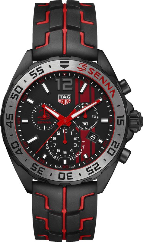 TAG Heuer Formula 1 CAZ1019.FT8027 Senna Edition on Sale - Best Prices Online for Authentic TAG Heuer Watches at AuthenticWatches.com!