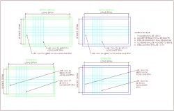 Steel structure view with bar plan of office dwg file | block | Bar