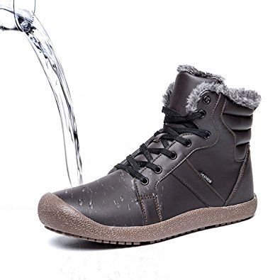 9c31a04bc Gracosy Winter Snow Boots, Men and Women 's Outdoor Warm Ankle ...