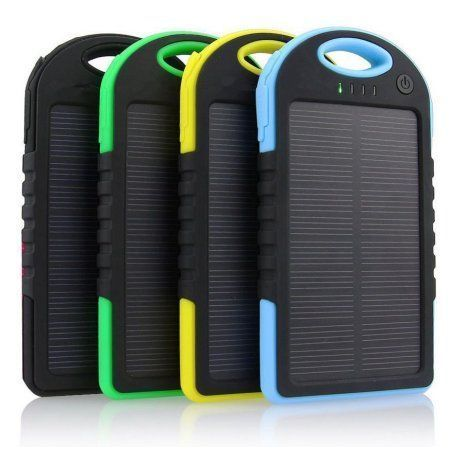 12000mah Portable Shockproof Waterproof Solar Charger Power Bank Battery Panal Double Usb For Iphone Samsung Solar Battery Cell Phone Charger Solar Power Bank