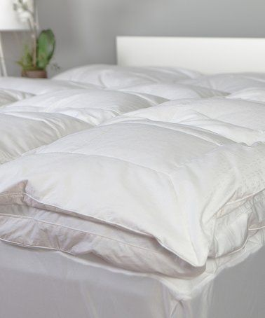 Love This Regal Resort Dreamy Down Alternative Mattress Topper On Zulily Zulilyfinds Feather Bed Fluffy Bedding White Linen Bedding