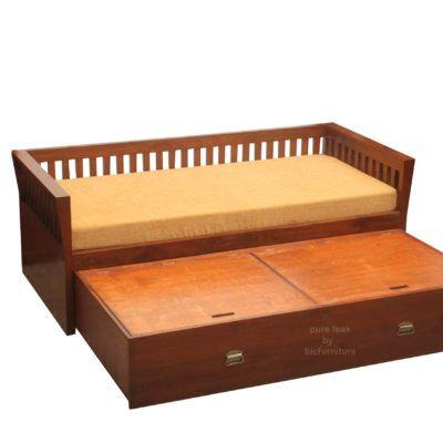 Storage Sofa Bed Day In Teak Wood Furniture 2019