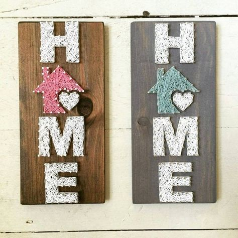This is a pre-order. Items are 100% handmade after purchase. Please allow 2-3 weeks for creation. String art is a unique way to showcase something you love inside of your home. It also makes a great gift for weddings, anniversaries, Christmas, birthdays, or just because! Each sign is unique and
