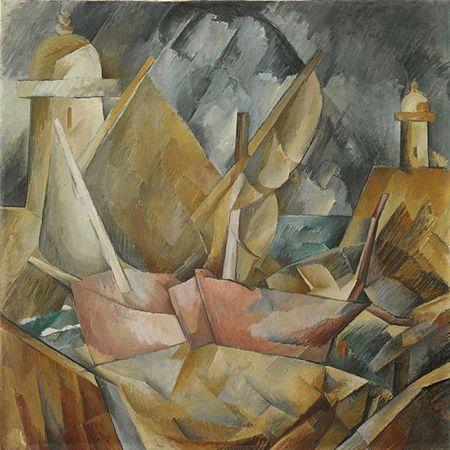 Port En Normandie De Georges Braque Georges Braque Art Painting