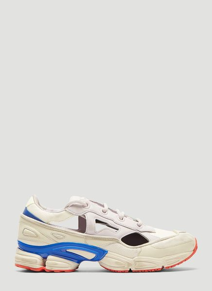 differently f7b92 56ee8 ADIDAS BY RAF SIMONS REPLICANT OZWEEGO SNEAKERS IN WHITE ...